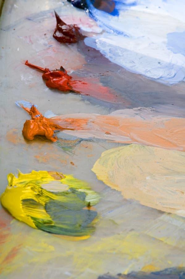 Pinte la gama de colores foto de archivo libre de regalías