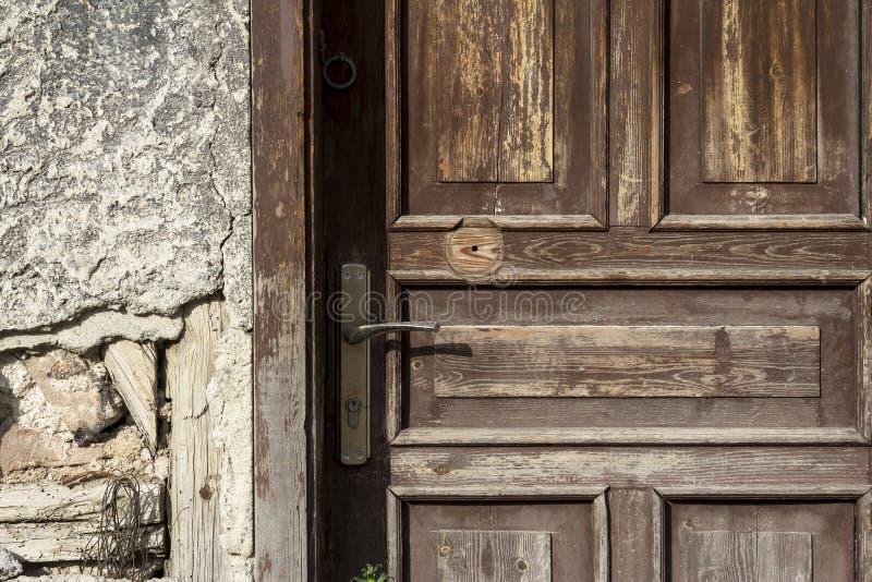 Pinte la textura derramada de la puerta imagenes de archivo