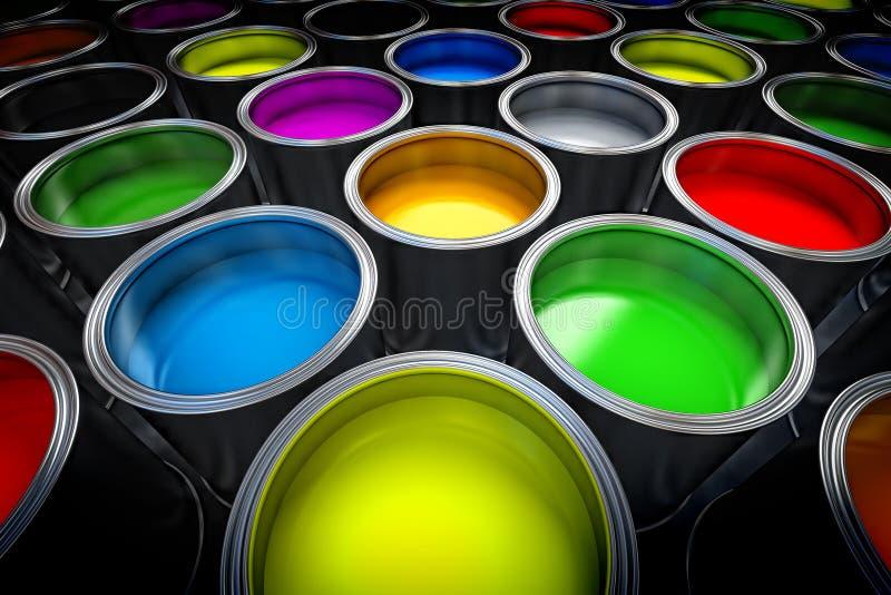 Pinte las latas