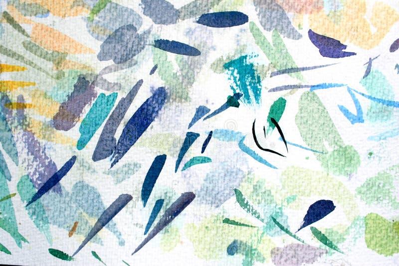 Pinte los embadurnamientos ilustración del vector