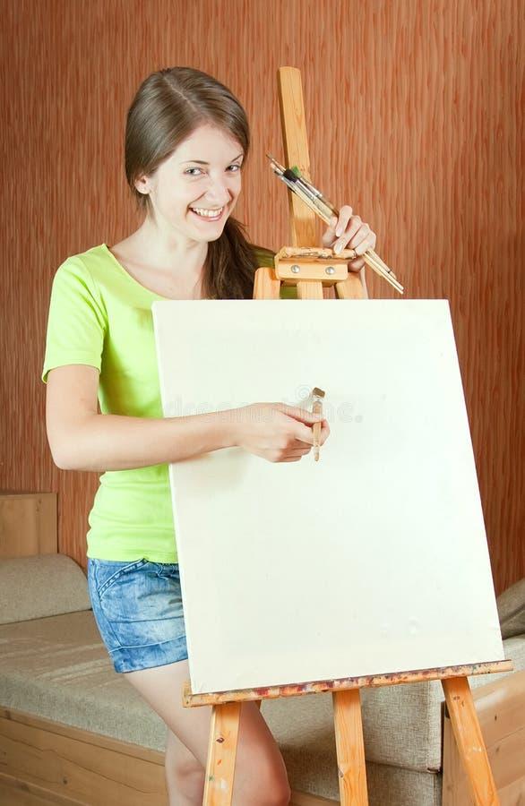 Pintor joven fotos de archivo