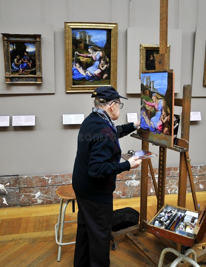 Pintor para a pintura ilustração royalty free
