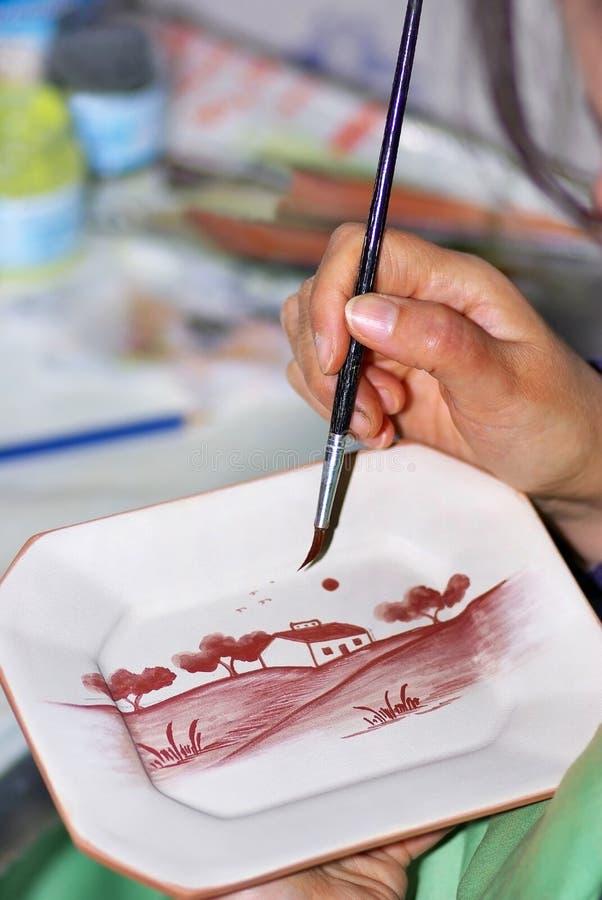 Pintor portugués. foto de archivo