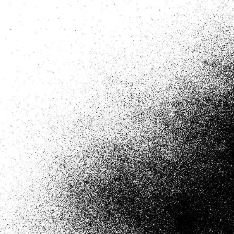 A pintura à pistola do vetor chapinha a textura ilustração royalty free