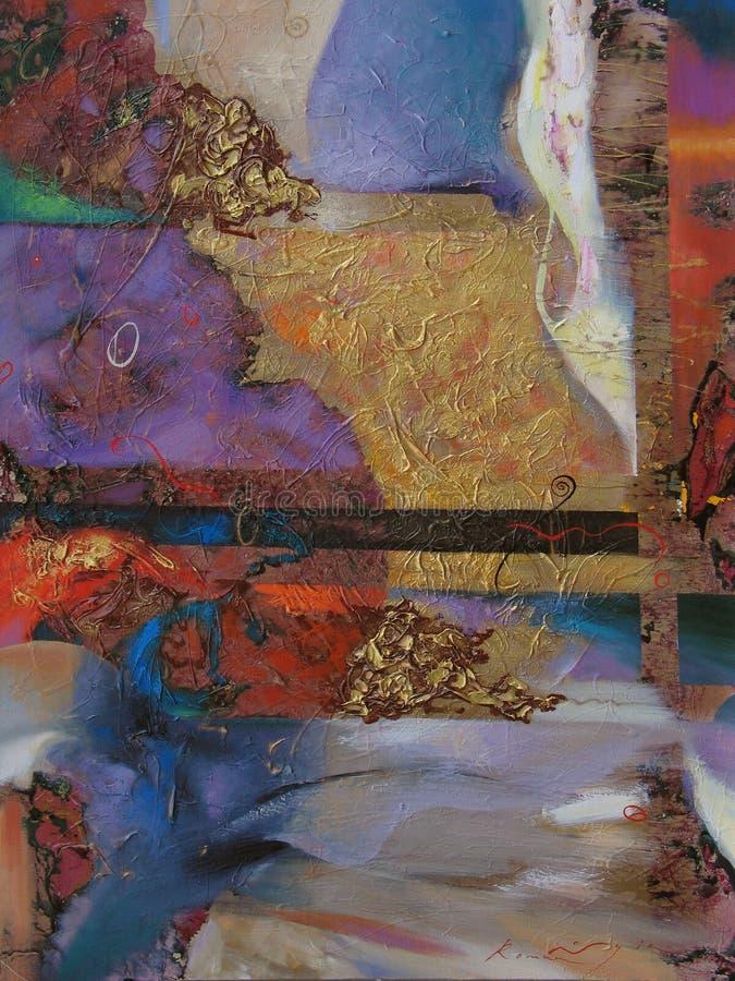 Pintura a óleo da textura, Roman Nogin autor de pintura fotos de stock