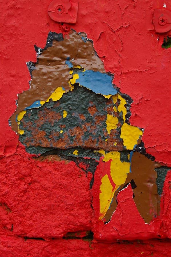 Pintura 01 da casca fotografia de stock