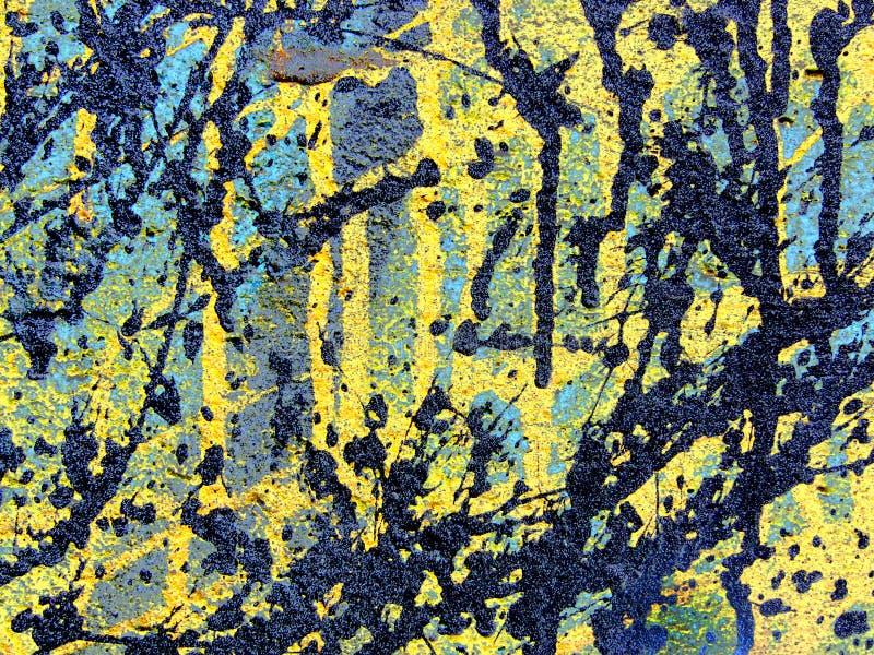 Download Pintura foto de stock. Imagem de azul, preto, parede, sumário - 100554