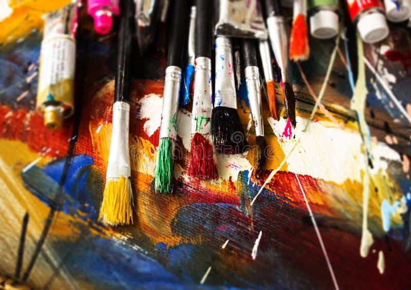 pintura foto de stock