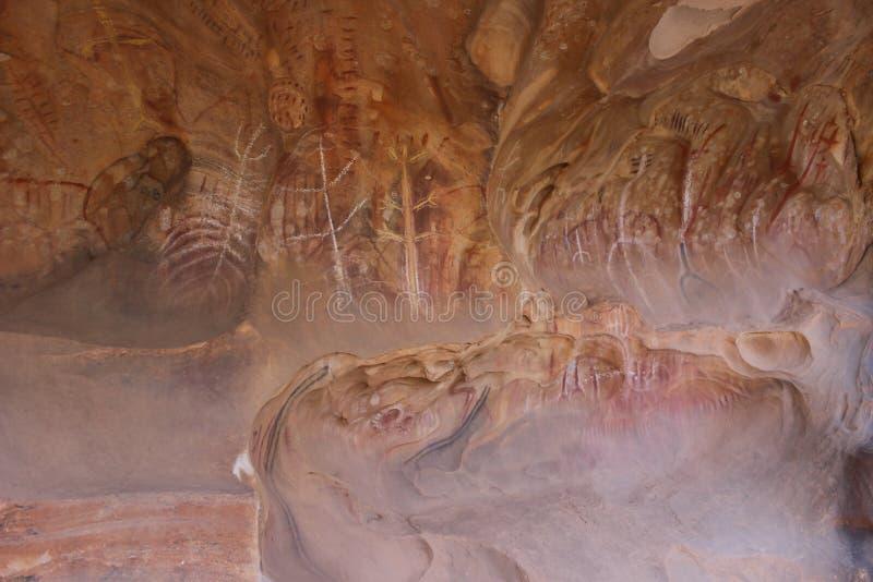 Pintura aborígene fotos de stock