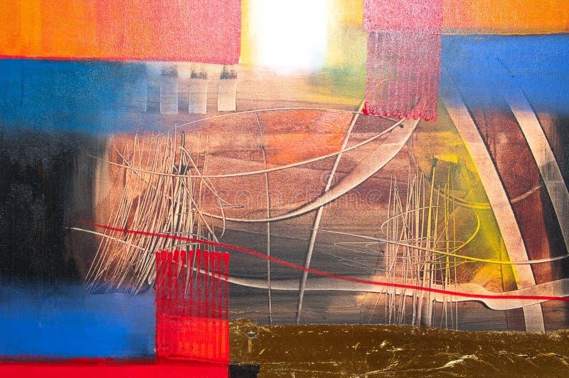 Pintura abstracta imágenes de archivo libres de regalías