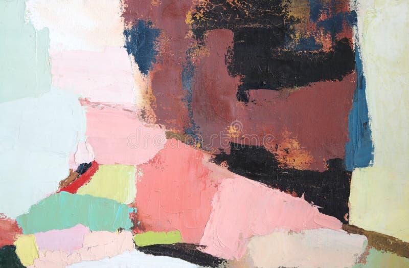 Pintura abstracta 4 foto de archivo libre de regalías