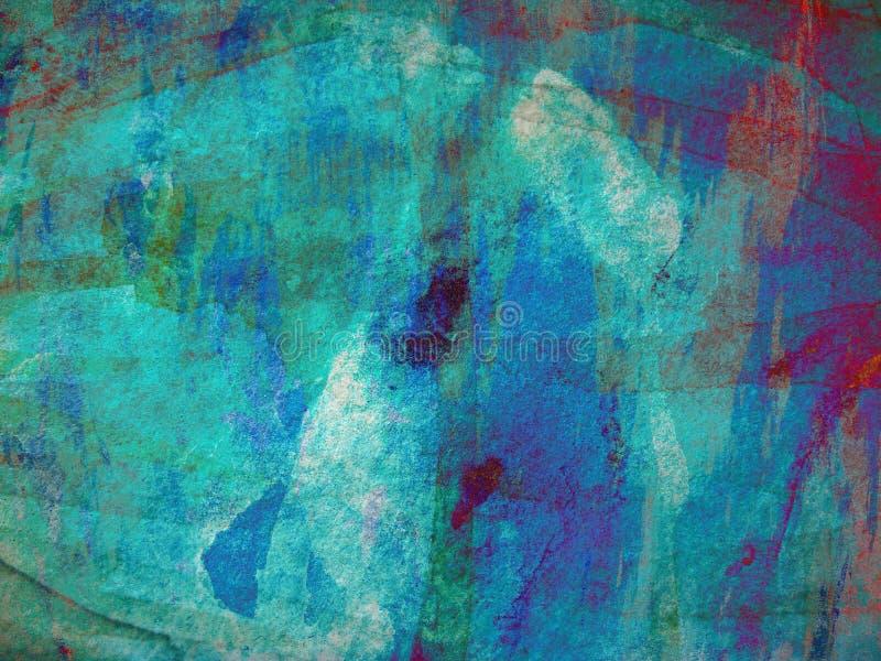 Pintura abstracta imagen de archivo
