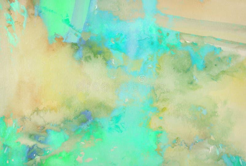 Pintura abstracta del fondo ilustración del vector