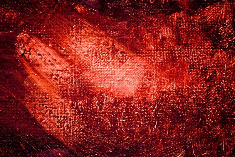 Pintura abstracta, luminiscencia del clarete, fondo foto de archivo