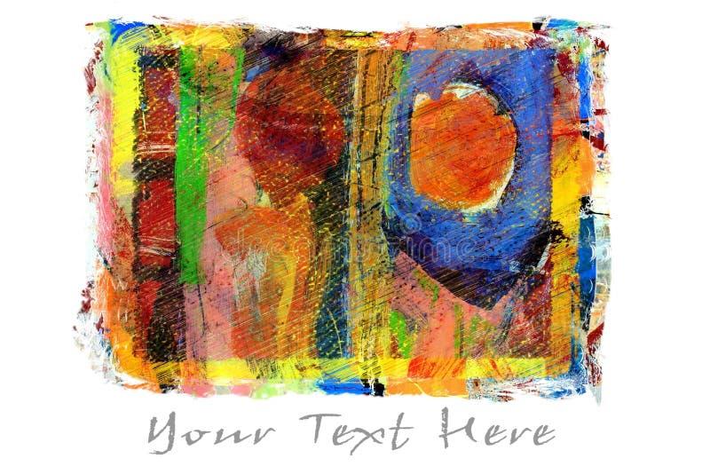 Pintura abstracta original libre illustration