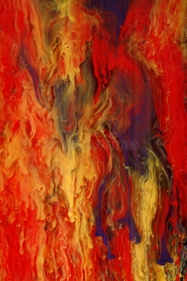 Pintura abstrata colorida imagens de stock royalty free