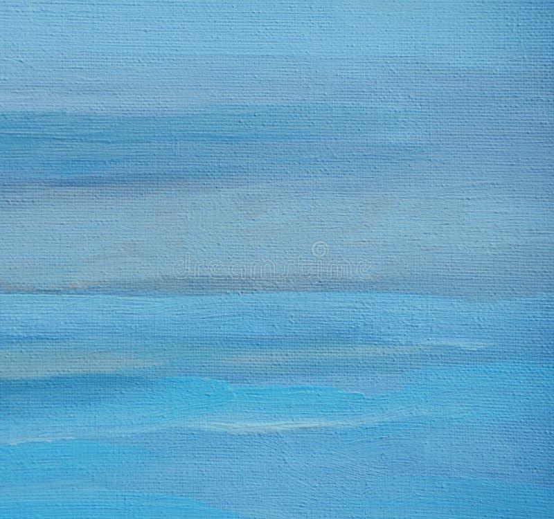 Pintura abstrata pelo óleo em uma lona, ilustração, fundo foto de stock