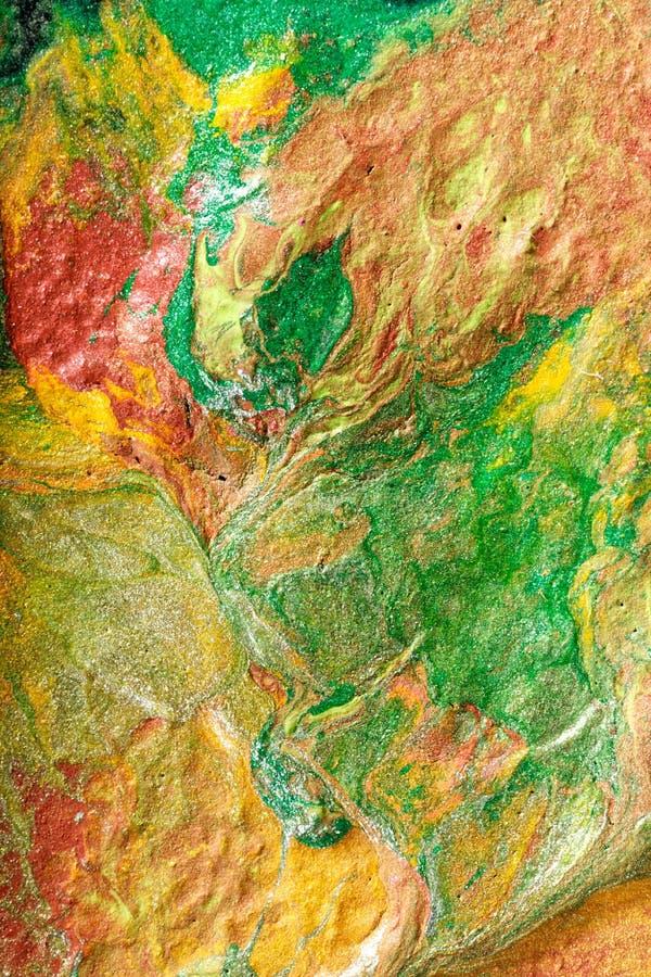 Pintura abstrata pelo fluxo de ar foto de stock royalty free