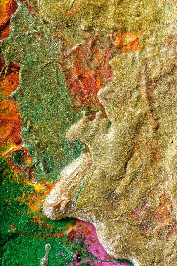 Pintura abstrata pelo fluxo de ar foto de stock