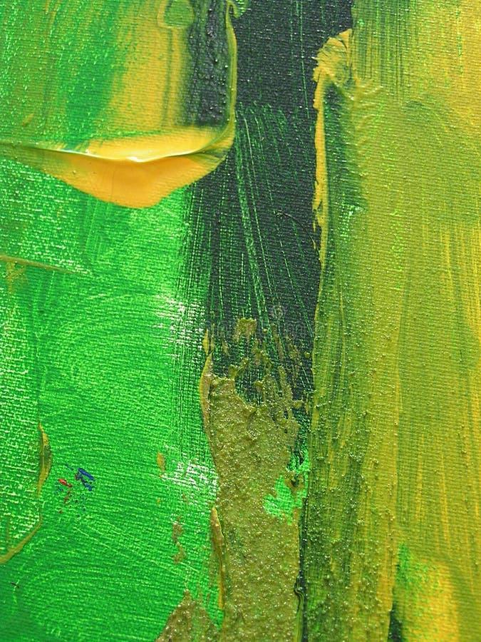 Pintura acrílica imagens de stock royalty free