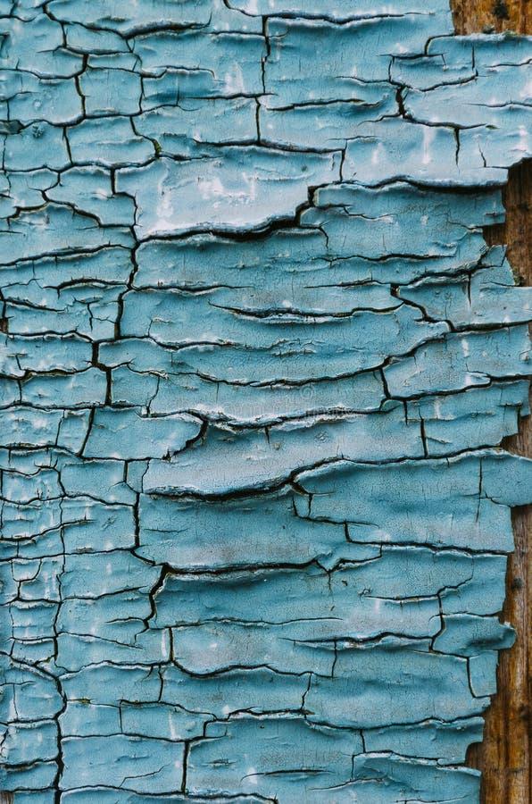Pintura agrietada de la textura imagen de archivo libre de regalías