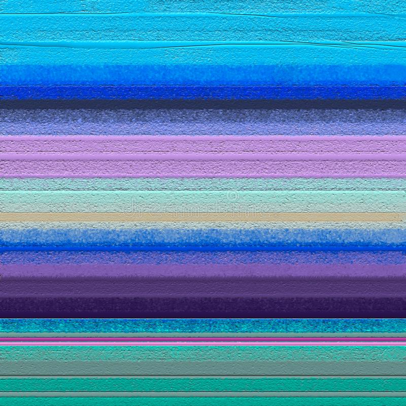 Pintura al óleo colorida abstracta en textura de la lona foto de archivo libre de regalías