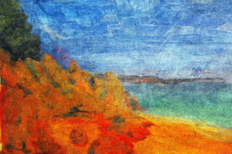 Pintura al óleo original libre illustration