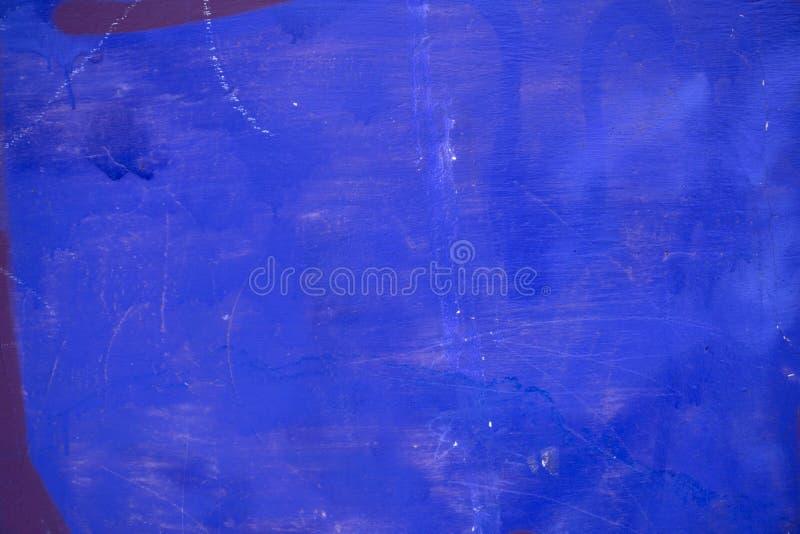 Pintura azul 1 da pintura do fundo fotografia de stock