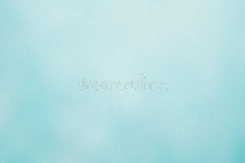 Pintura azul del yeso del fondo de Aqua Cement Painted Texture áspera con el fondo de alta resolución de la ilustración para el d foto de archivo libre de regalías