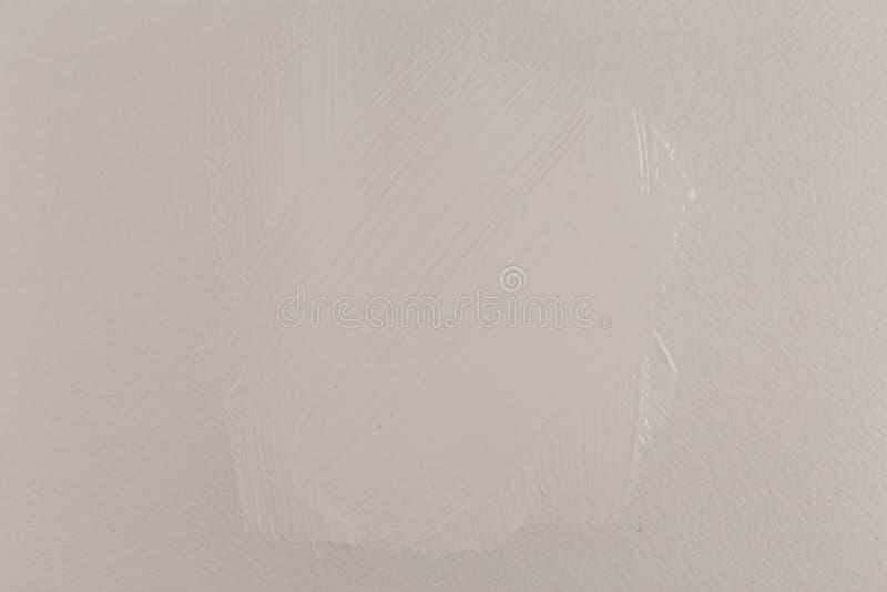 Download Pintura blanca en el papel imagen de archivo. Imagen de fondo - 100529867