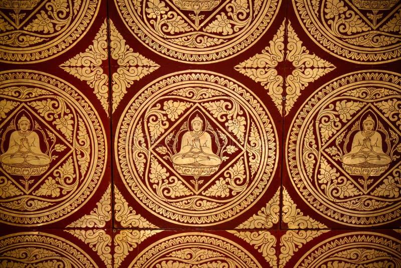 Pintura budista imágenes de archivo libres de regalías