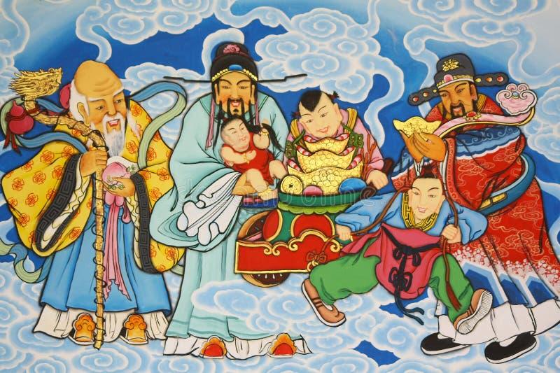 Pintura chinesa foto de stock