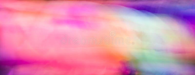 Pintura clara abstrata, borr?o de movimento foto de stock