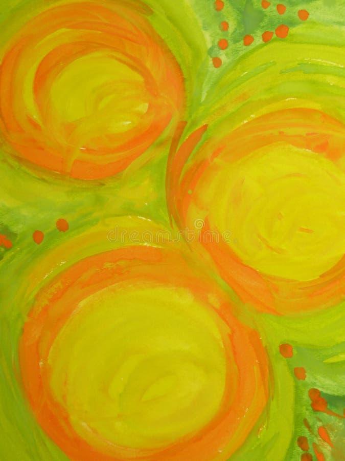 A pintura colore o sumário ilustração royalty free