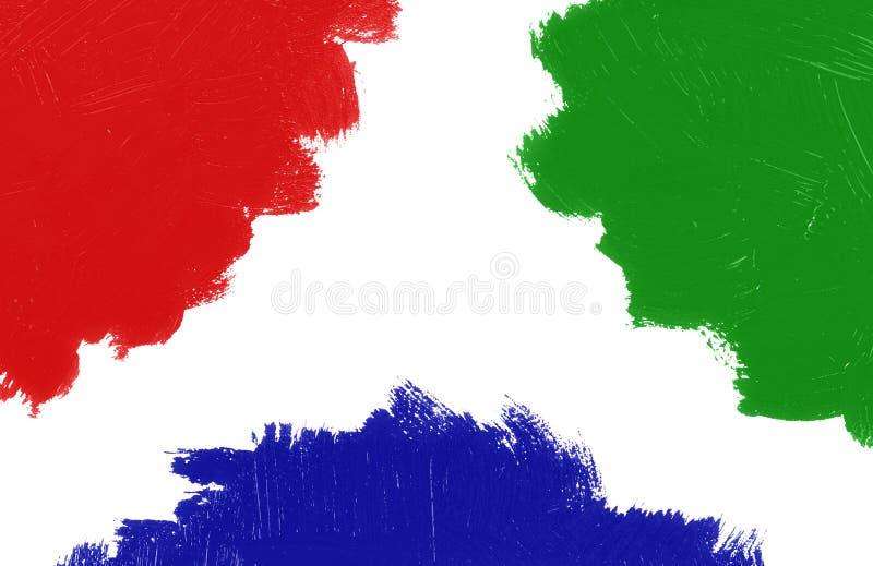 Pintura colorida fotos de archivo