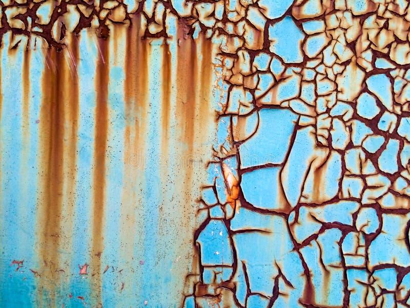 Pintura corroída del moho de la pintura del moho fotografía de archivo
