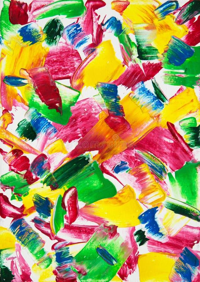 Pintura da arte contempor?nea ilustração royalty free