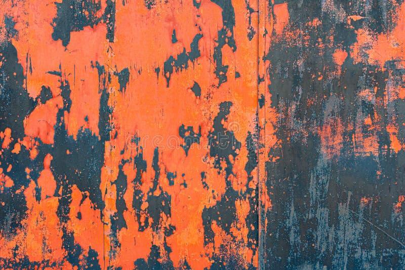 Pintura da casca na parede abstraia o fundo imagens de stock royalty free