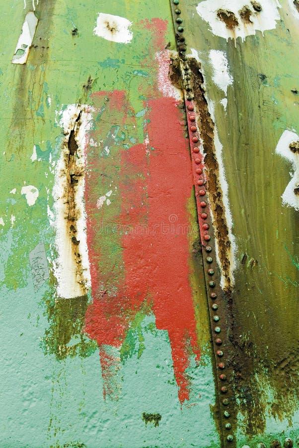 Pintura da oxidação do grunge do Grot ilustração stock