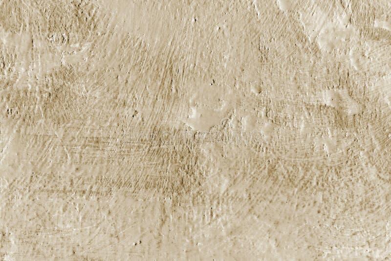 Pintura de Brown Fondo decorativo pintado extracto de la pared foto de archivo