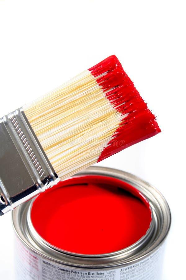 Pintura de casa do látex fotos de stock