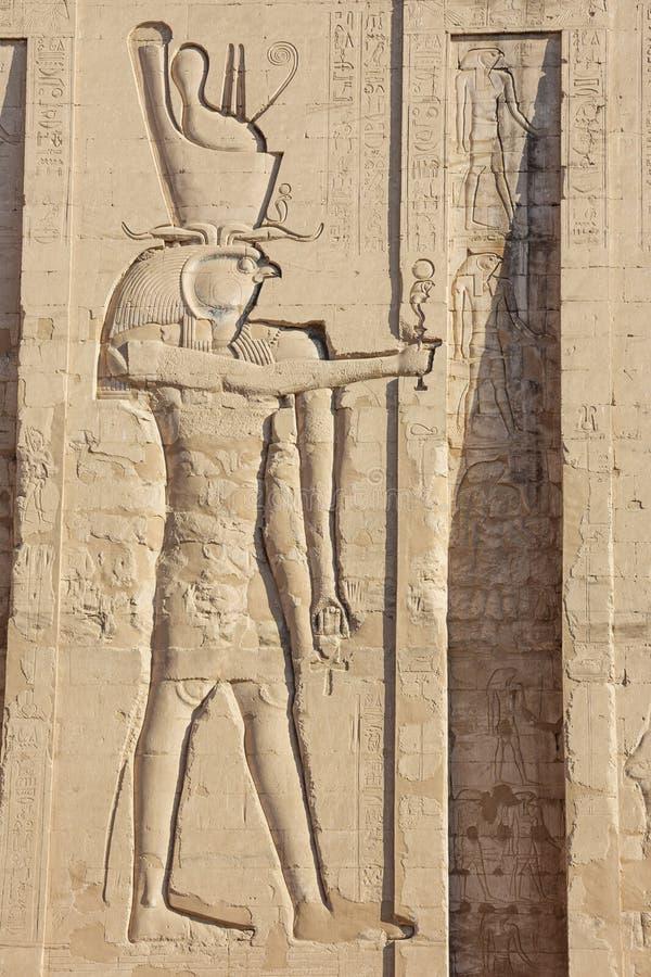 Pintura de Horus fotografía de archivo libre de regalías