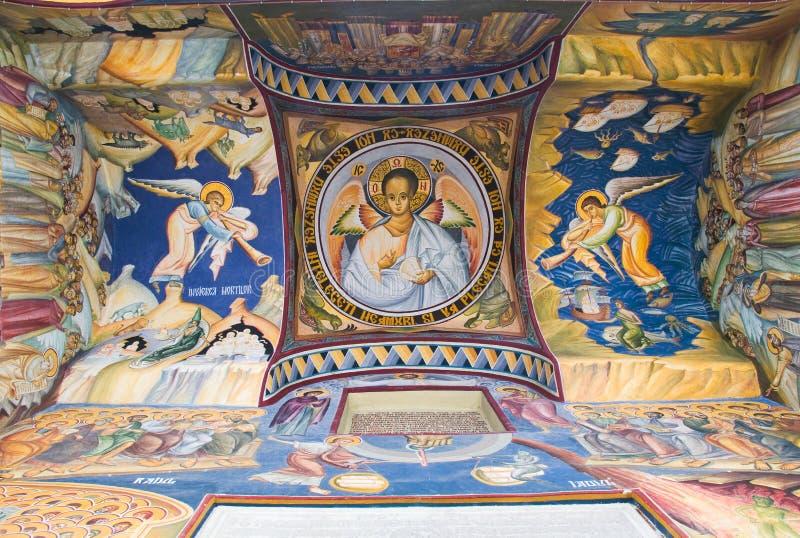 Pintura de la iglesia fotos de archivo