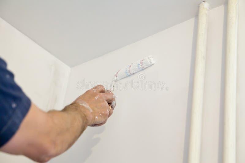Pintura de la pared imagenes de archivo