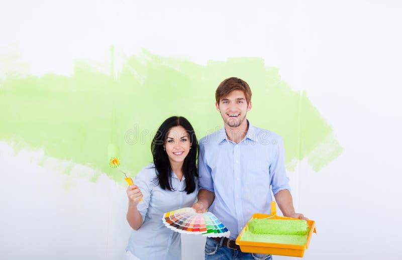 Pintura de la pared imagen de archivo libre de regalías