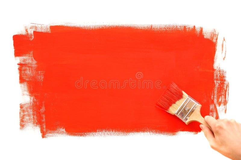 Pintura de la pared foto de archivo libre de regalías