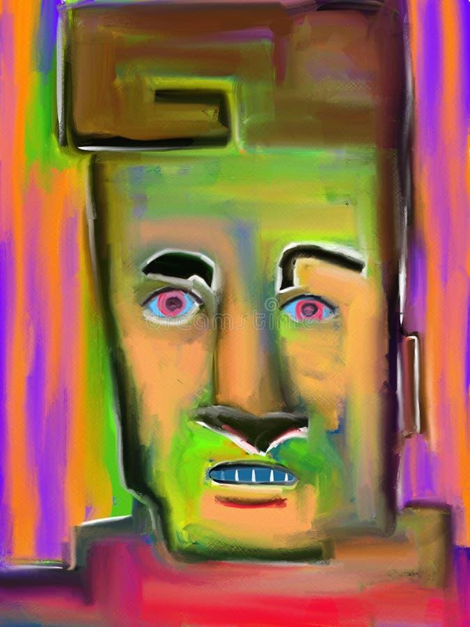 Pintura de Lyle - de Digitaces ilustración del vector