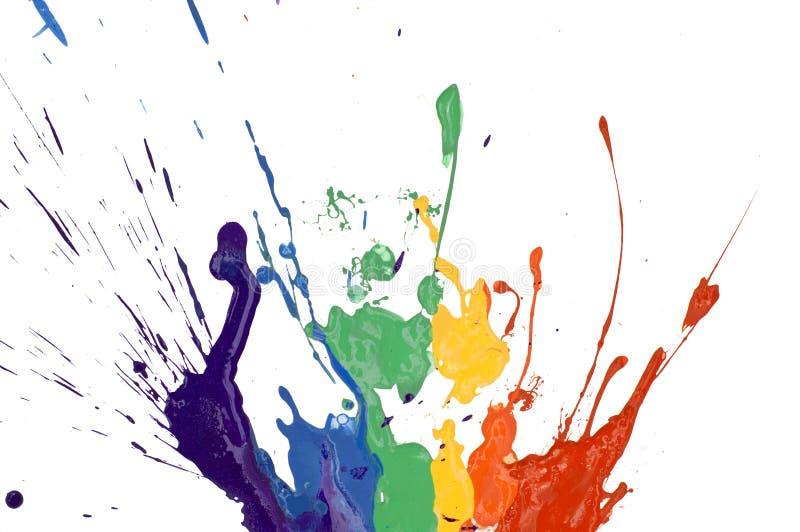 Pintura del arco iris libre illustration