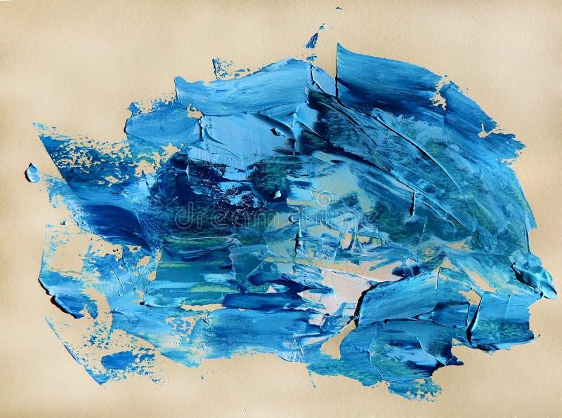Pintura del arte abstracto para el fondo, textura libre illustration