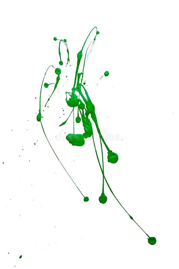 Pintura del chapoteo imagen de archivo libre de regalías